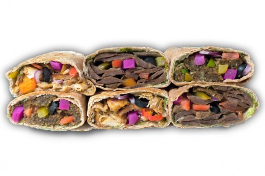 Healthy Grilled Wrap